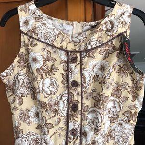 Modcloth Dress. Floral/ vintage